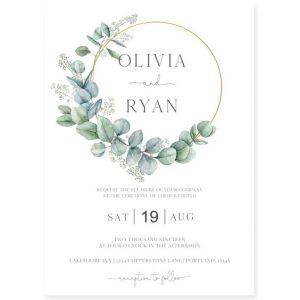wedding invitation wording for couple hosting
