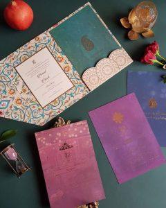 wedding card hindu