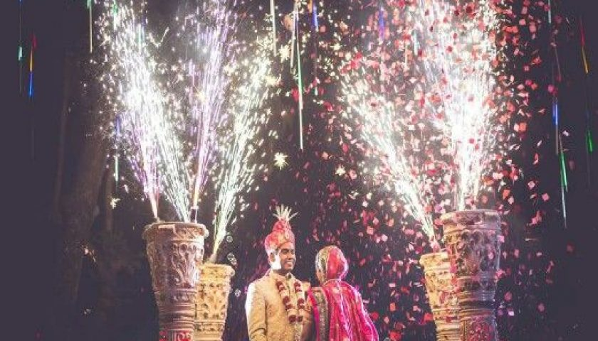 Flower Jaimala Stage