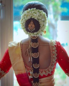 South Indian Bridal Hairstyles_moon billas