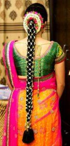 South Indian Bridal Hairstyles_Jasmine Net Jada