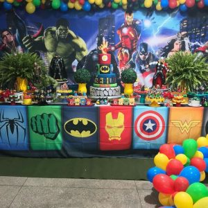Birthday Party Themes For Boys Avengers