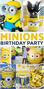 Birthday Party Theme for Boys Minion Theme
