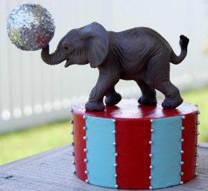 Circus Theme Birthday Party - Animal Shaped Small Cakes