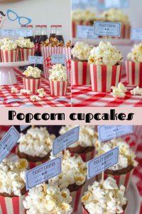 Circus Themed Birthday Party Popcorn
