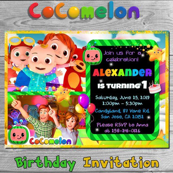 Cocomelon Birthday Theme Party Theme 4