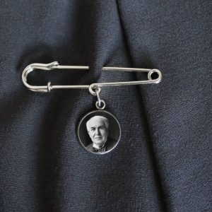 Father of the groom Lapel pin