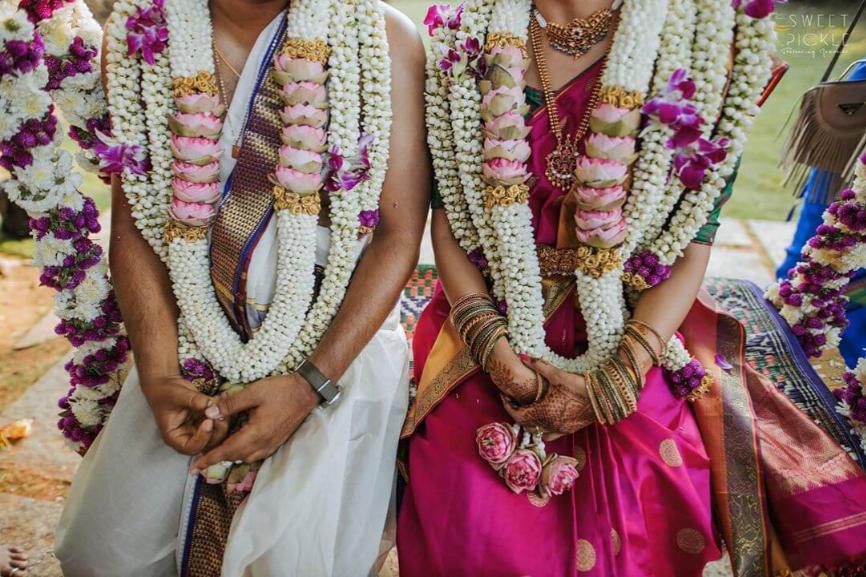 South Indian Wedding Décor Garland 2
