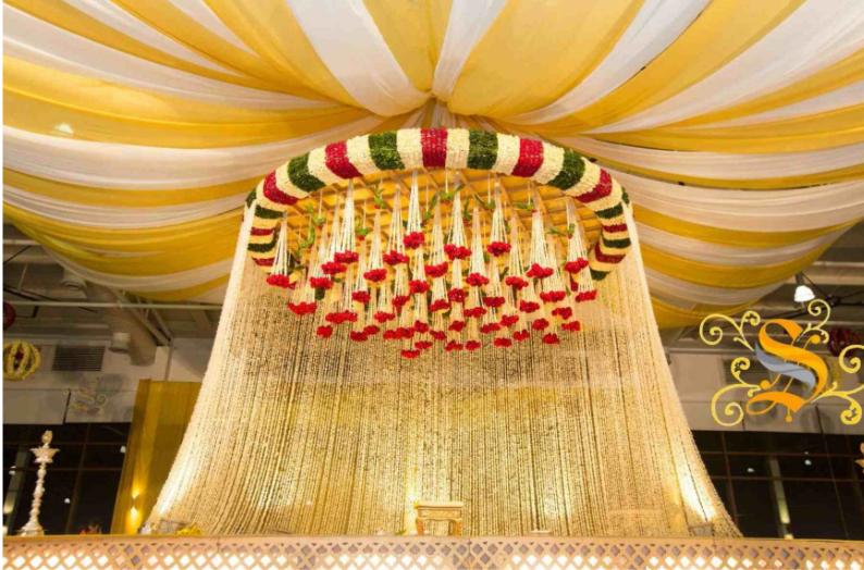 South Indian Wedding Mandap 1