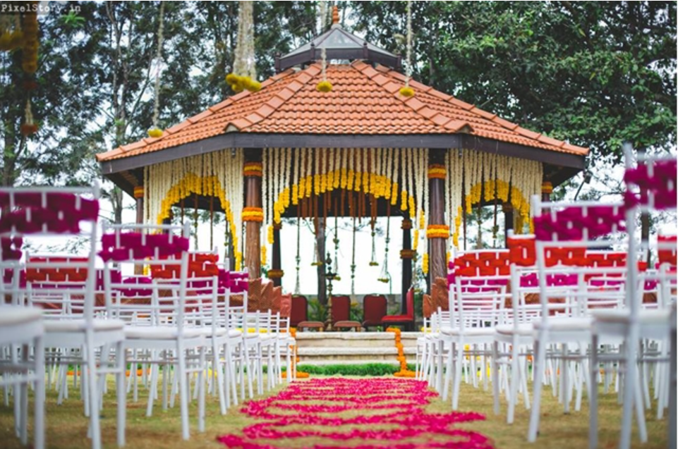 South Indian Wedding Mandap 2