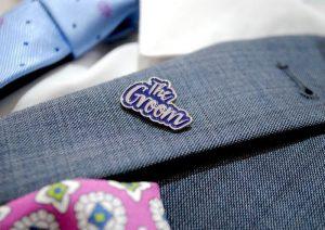 The Groom Lapel Pin