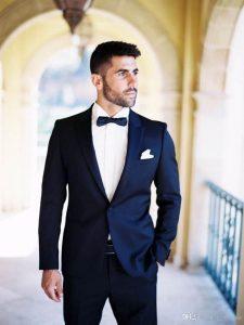 Tuxedo Color Navy Blue