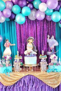 Birthday Themes For Boys Aladdin