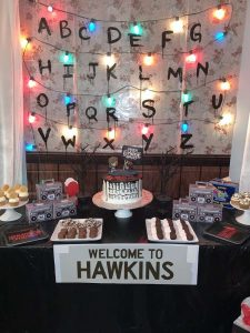 Birthday Party Themes For Boys Stranger Things