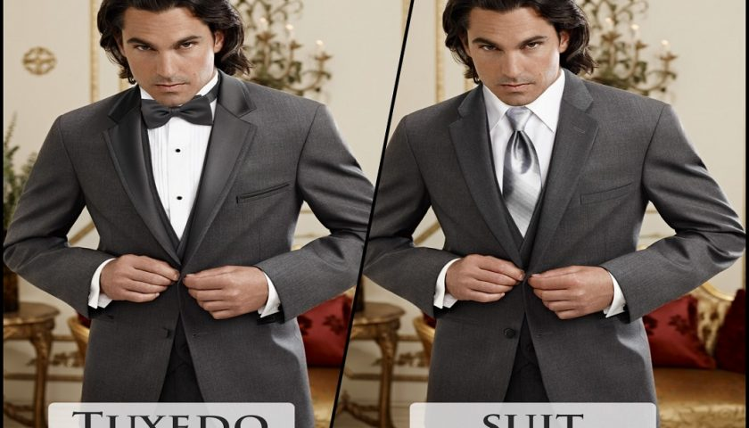 Tuxedo vs Suit Featured Image