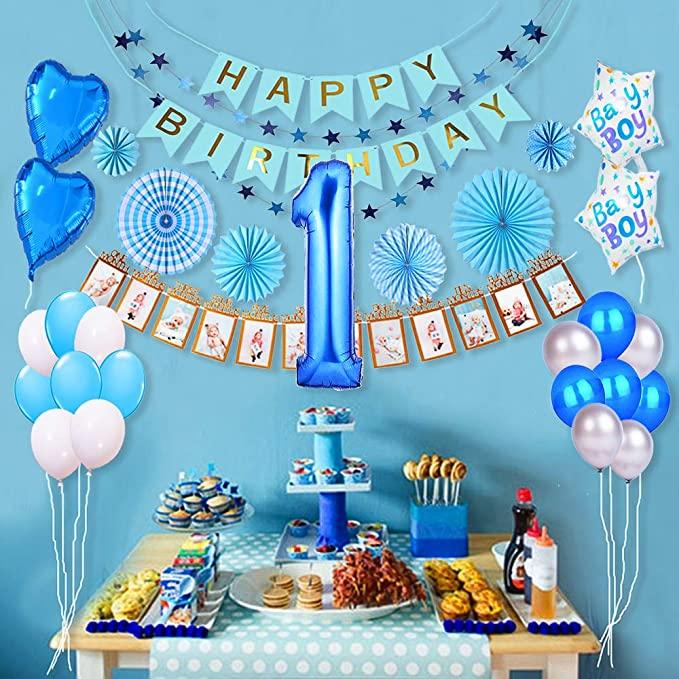 1st Birthday Decoration Ideas for Boy 1