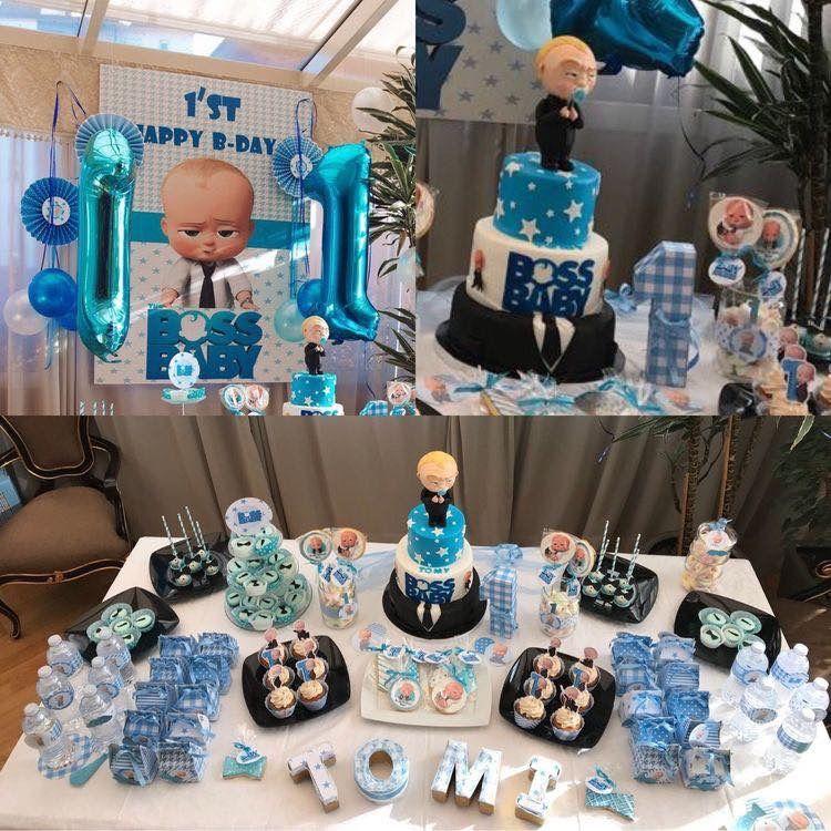 1st Birthday Decoration Ideas for Boy 2