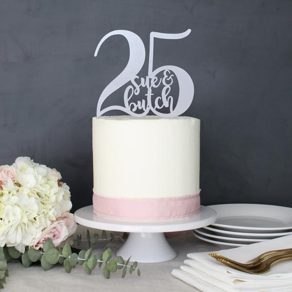25th Wedding Anniversary Decorations
