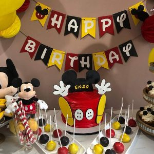 Birthday Theme For Girls - Mickey Mouse