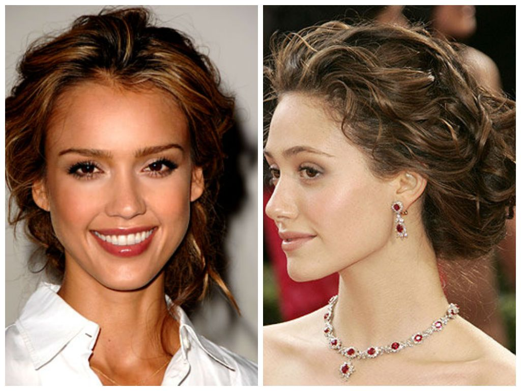 Bridal Hairstyles for Heart Face Shape
