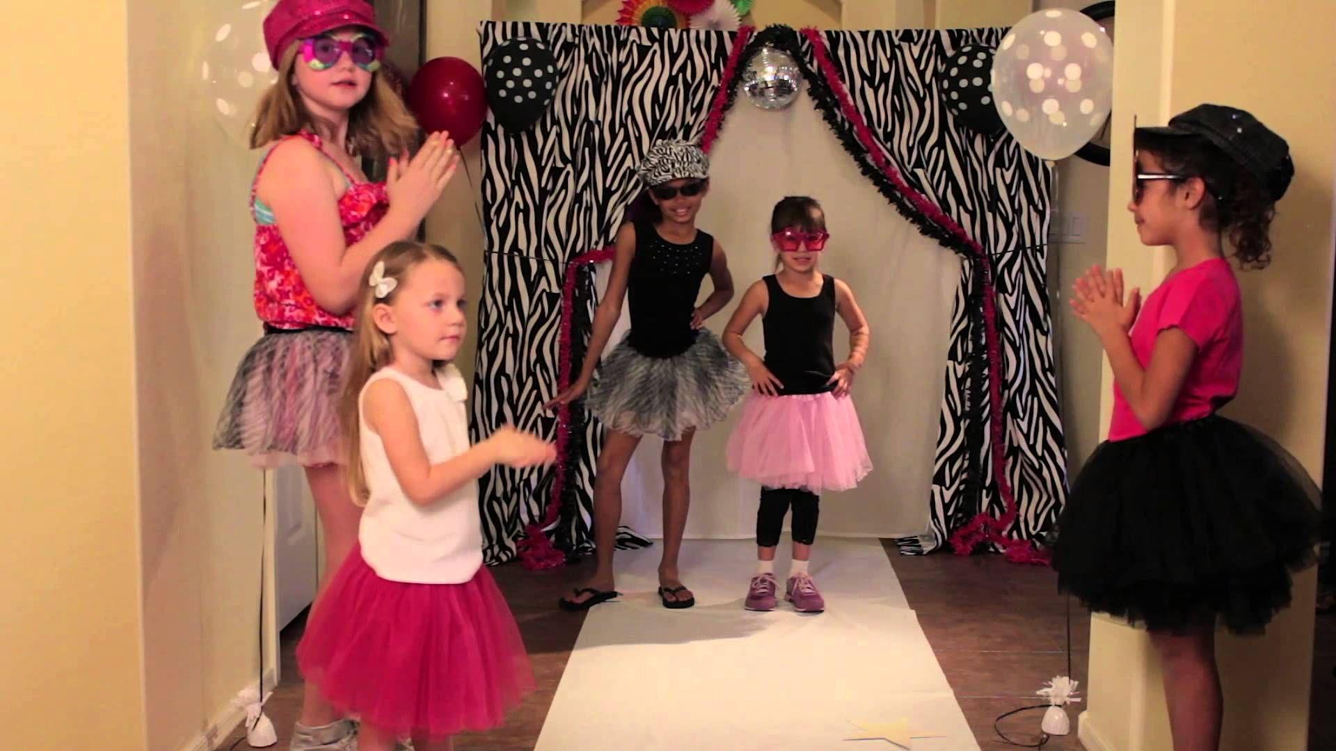 Fashion show Birthday Party Ideas 2