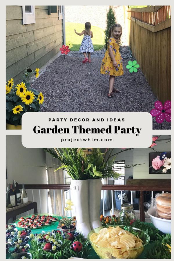 Gardening Birthday Party Ideas 1