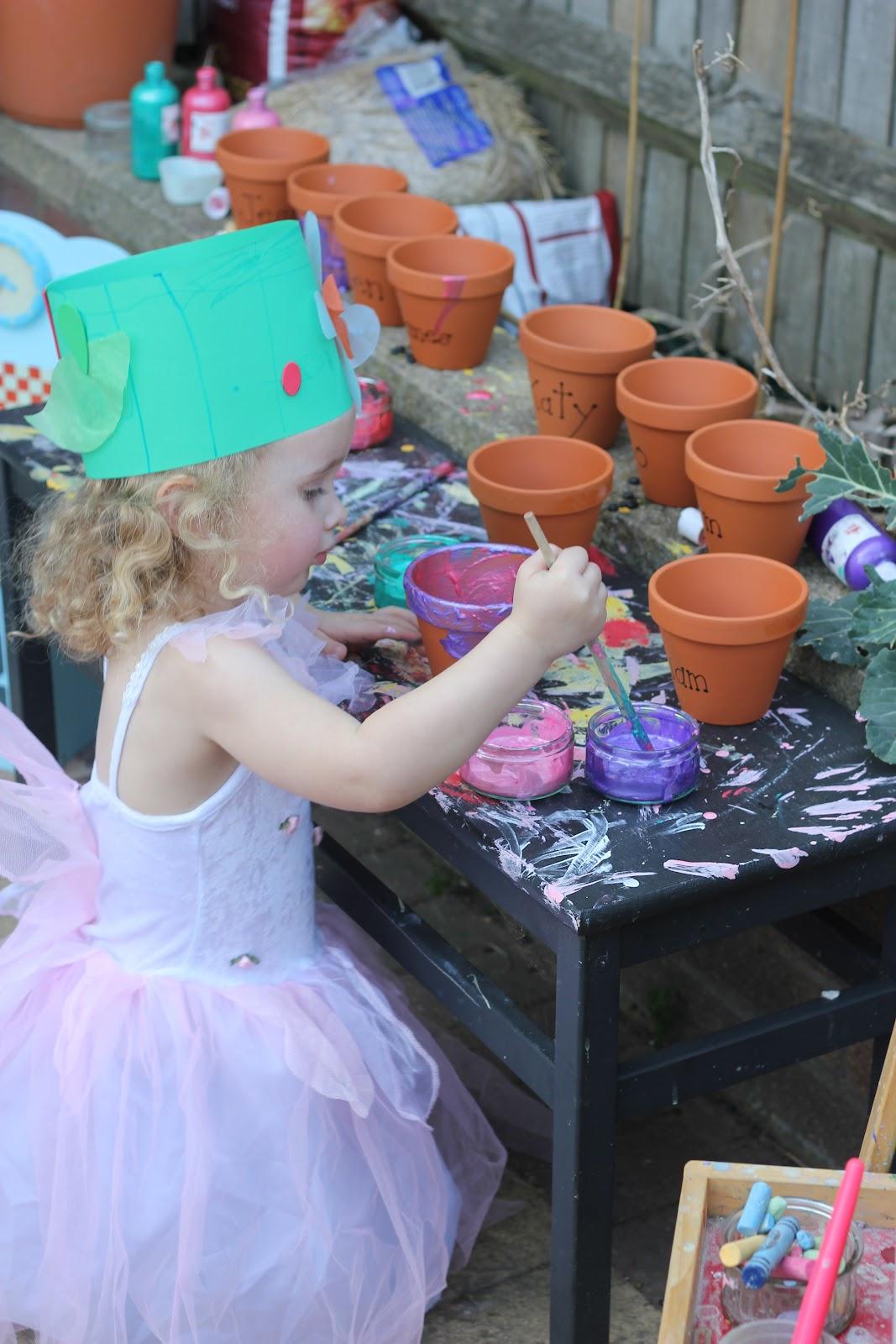 Gardening Birthday Party Ideas 2