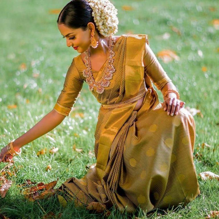 Golden Hues Sarees 2