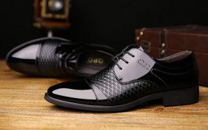 Groom Shoes Black