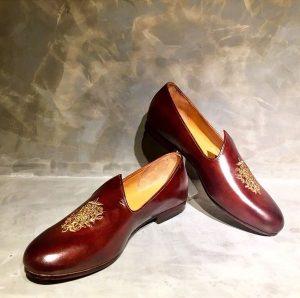 Groom Shoes Brown Jutti