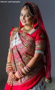Gujarati Wedding Sarees Panetar