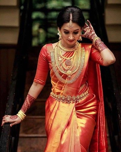 Kanjeevaram South Bridal Look 2