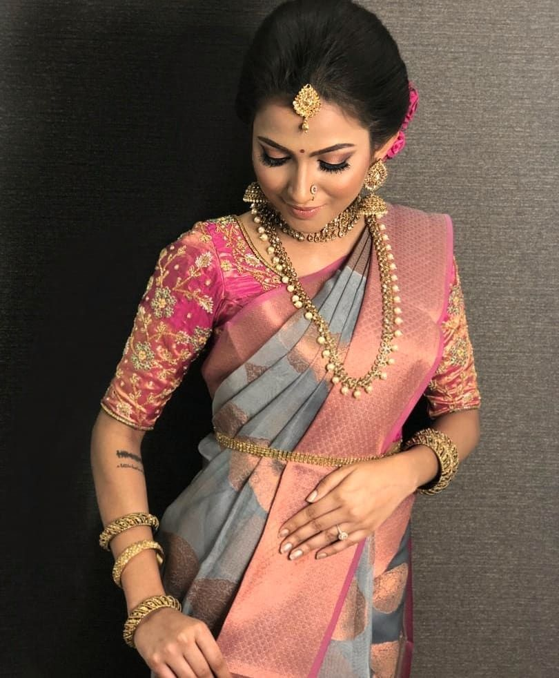 South Indian Bridal Look Images 1