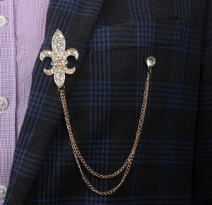 Suit Brooch Anchor