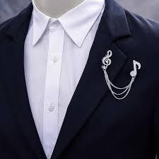suit brooch
