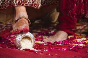 Gujarati Wedding Rituals - Grih Pravesh
