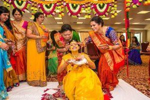 Gujarati Wedding Rituals - Pithi