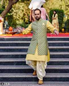 Sangeet Outfits _ Yellow