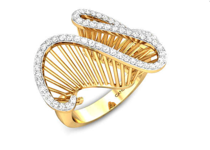 Disordered Diamond Ring