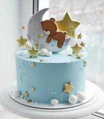 Baby Shower Cake Ideas- Moon and the Star