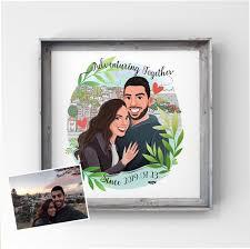 Engagement Gift Ideas - Couple portrait