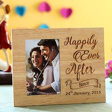 Engagement Gift Ideas - Happily Ever After Picture Frame