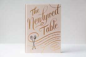 Engagement Gift Ideas - Newlywed Table Book