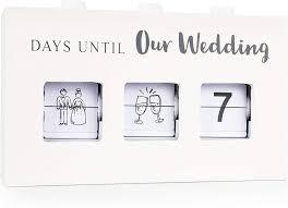 Engagement Gift Ideas - Wedding Countdown