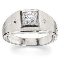 Engagement Ring Designs for Male Silver 12