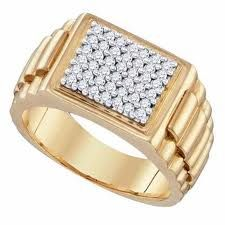 Engagement Ring Designs for Male Watch Type Design - 14