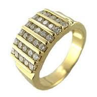 Gold Designer Engagement Ring Designs for Male -13