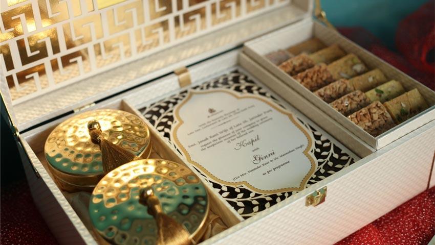 Sweets Wedding Card Box