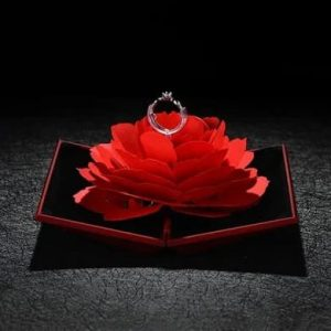 Valentine's Day Gift - Rose Ring Box