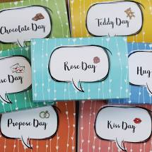 Valentine's Day Gifts - 7 Day Hamper